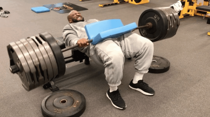 James Harrison Workout
