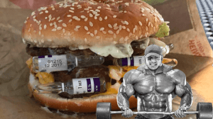 big ramy eating