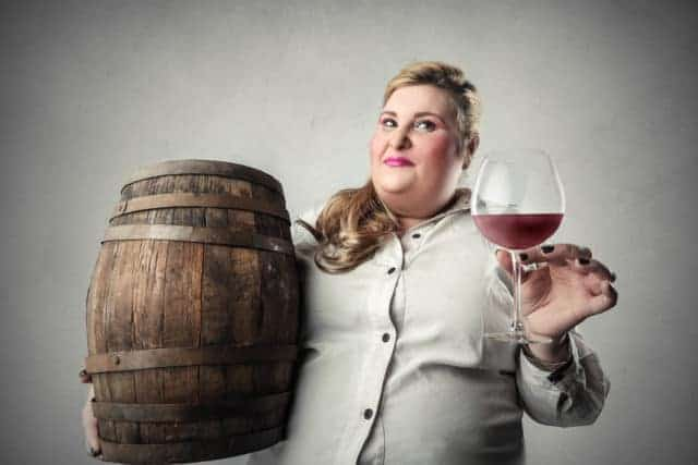 does red wine make you fat