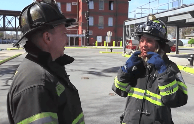 become a female firefighter