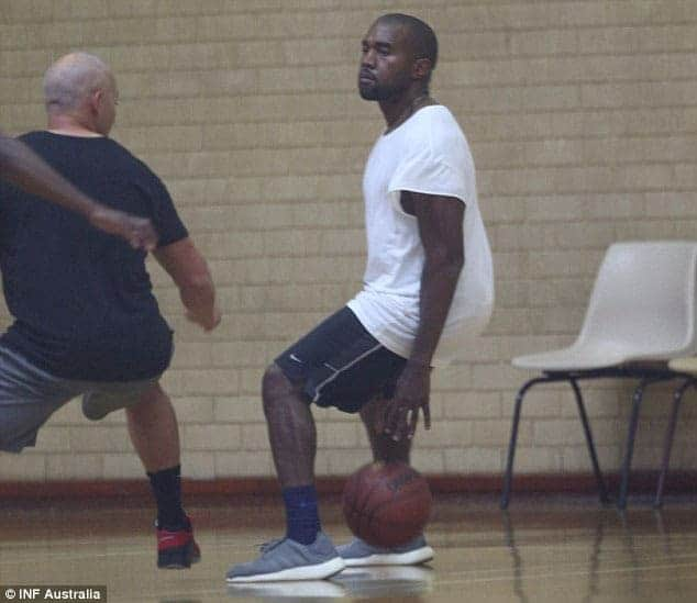 kanye west workout